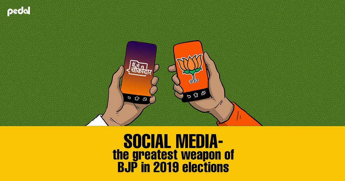 Social Media – the greatest weapon of BJP in 2019 elections